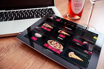 Webdesign Onlineshop: Pizzarun
